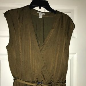 Dresses & Skirts - Olive green jumpsuit NWT